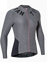 Cycling Jersey Women's Long Sleeve Bike Jersey Terylene Fashion Spring Summer Leisure Sports Backcountry