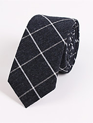 Men's Fashion Casual Cotton And Linen Narrow Tie