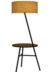 40 Modern/Comtemporary Floor Lamp , Feature for Eye Protection , with Other Use On/Off Switch Switch