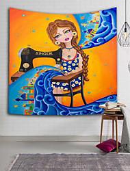 Décoration murale 100 % Polyester Asiatique Art mural,1