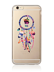 Étui pour iphone 7 7 plus modèle de capture de rêve tpu doux back cover cartoon pour iphone 6 plus 6s plus iphone 5 se 5s 5c 4s