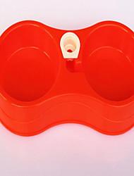 Cat Dog Dogers Pet Bowls& Alimentation portable rougissant rose bleu rouge