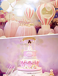 1pcs bowknot décoration carte de scène inséré carte partie anniversaire fête anniversaire gâteau petit drapeau couleur aléatoire