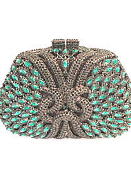 Women Handmade Crystals Beaded Clutches Evening Bags