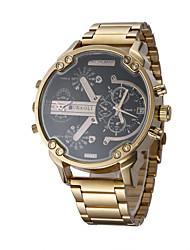 JUBAOLI Мужской Спортивные часы Модные часы Наручные часы Китайский Кварцевый Календарь С двумя часовыми поясами Крупный циферблат