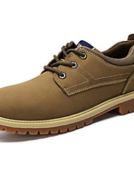Camel Men's Outdoor Leisure Daily Reliable Work Shoes Color Khaki/Earth Yellow