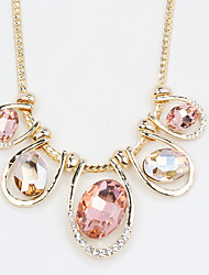 Women's Pendant Necklaces Jewelry Jewelry Crystal Alloy Unique Design Euramerican Fashion Jewelry 147 Party Other Evening Party