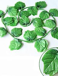 240CM  Grape Leaf Home Decoration Artificial Flowers 12PCS