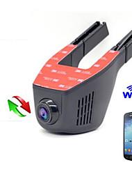 Coche ocultado coche dvr cámara de coches cámara wifi 1080p coche dvr full hd visión nocturna vehículo de motor cámara de apoyo andriod y