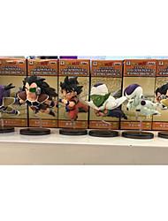 Figuras de Ação Anime Inspirado por Dragon ball Goku PVC 8 CM modelo Brinquedos Boneca de Brinquedo