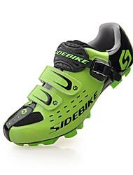 BOODUN/SIDEBIKE® J050178 Cycling Shoes Mountain Bike Shoes Men's Wearproof Waterproof Wearable Ultra Light (UL) Mountain BikePU