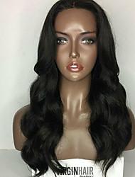 9a grade devant devant la perruque des cheveux humains pour les cheveux de la femme à 150% de la densité des cheveux vierges brutaux en