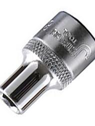 Il 1/4 série six angles métrique socket 8mm / 100