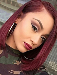 Wine Red Sexy Natural Beauty Synthetic Wig Heat Resistant Daily Hair for Women