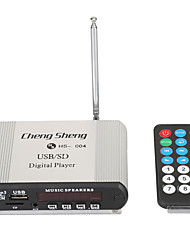 LORCOO MP3 USB/SD Digital Player Music Sperkers