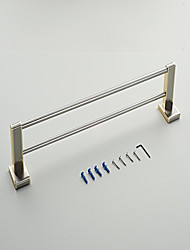 European Style Solid Brass Crystal Gold Bathroom Shelf Bathroom Double Towel Bar Bathroom Accessories
