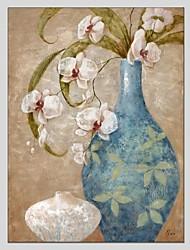 Pintados à mão Vida Imóvel Panorâmico Vertical,Moderno Clássico 1 Painel Tela Pintura a Óleo For Decoração para casa