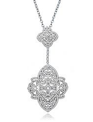 Women's Pendant Necklaces Jewelry Jewelry Zircon Alloy Unique Design Euramerican Fashion Jewelry ForWedding Party Birthday