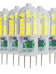 3W Luminárias de LED  Duplo-Pin T 30 SMD 2835 200-300 lm Branco Quente Branco Frio Branco Natural V 5 pçs