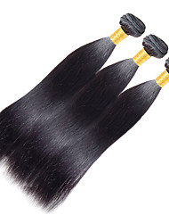 Full Head 100g/1pcs Remy Yaki 10-20Inch Color 1 Human Hair Weaves