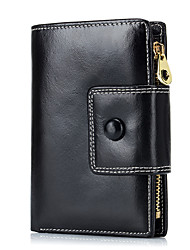 Fashion Genuine Leather Women Purse Wallets Female Short Wallet For Credit Card Ladies Small Wallets Clutch M06886