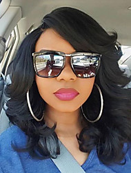 180% Density Brazilian Virgin Hair Bob Wigs Loose Wave Lace Front Human Hair Wigs Short Virgin Hair Wig with Side Bang