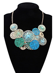 Euramerican Fashion Circle Brand Necklace Lovely and Sweet Lady)Party Statement Jewelry