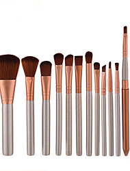 12 Pcs Makeup Brush kit Set Untuk Eyeshadow Blusher Kosmetik Brushes Alat Terbaik Kemasan Ritel Makeup Alat