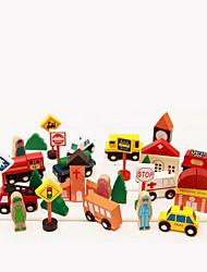 Tue so als ob du spielst Bausteine Für Geschenk Bausteine Holz 2 bis 4 Jahre 5 bis 7 Jahre Spielzeuge