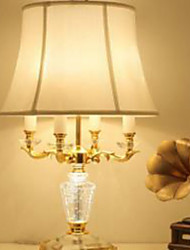 40 Crystal Table Lamp , Feature for Crystal Ambient Lamps , with Electroplate Use On/Off Switch Switch