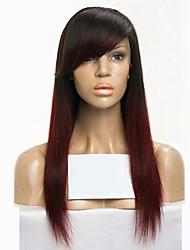 Ombre t1b / 99j peles virgens brasileiras do laço de cabelo virgem peruca de cabelo virgem da peruca de peruca de peruca de cabelo virgem