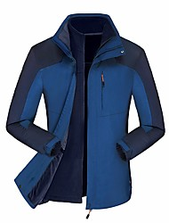 Per uomo Giacche 3-in-1 Tenere al caldo Antivento Pantalone/Sovrapantaloni per Corsa Primavera/Autunno Inverno M L XL XXL XXXL