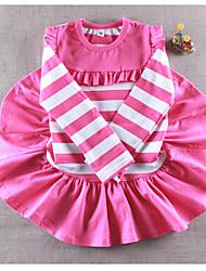 Girl's Stripes Dress