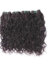 8a бразильская естественная волна virgin волосы 4bundles 400g много необработанных человеческих волос выдвижения ткет для одной полной