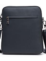 Cowhide Crossbody Bag Men Solid Color Luxury Men Bag High Quality Business Male Messenger Shoulder Bag D8852-4