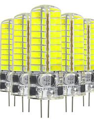 5W Luminárias de LED  Duplo-Pin T 72 SMD 5730 400-500 lm Branco Quente Branco Frio V 5 pçs