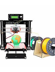 kit i3 démontées geeetech acrylique Prusa tête double extrudeuse MK8 buse 1.75mm filament de 0,3 mm
