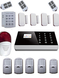 Burglar Pstn Gsm Alarm System Android For Home Alarma Security With Wireless Siren