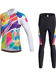MILOTO Women Cycling Jersey Bicycle  Bib Short  Pants Trousers MTB Waist Tracksuit Shirt Tops Bike Ropa Ciclismo