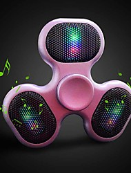 Outdoor Fidget Spinner Speaker LED Bluetooth Speaker Spinner Support TF Card