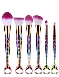 6Contour Brush Makeup Brush Set Blush Brush Eyeshadow Brush Eyeliner Brush Eyelash Brush dyeing Brush Powder Brush Sponge Applicator
