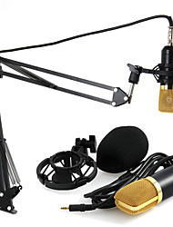 BM-700 Microphone With NB-35 Microphone Stand professional condenser System for Karaoke Amplifier Computer notebook guitar