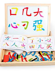 Quebra-Cabeça Brinquedo de Arte & Desenho Madeira Natural 6 anos e acima 3-6 anos de idade