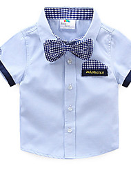 Baby 2017 Summer Short-Sleeved Shirt Tie Korean Style of The New Boy Children's Wear Children Shirt