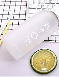 Casual/Daily Holiday Drinkware, 650 Silica Gel Glass Tea Juice Tumbler