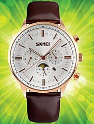 Masculino Mulheres Relógio Esportivo Relógio Elegante Relógio de Moda Relógio de Pulso Único Criativo relógio Chinês QuartzoCalendário