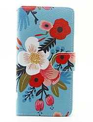 Для sony xperia x xa case cover the flowers pattern pu кожаный чехол для xperia m4 aqua
