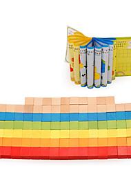 Blocos de Construir para presente Blocos de Construir Quadrada 3-6 anos de idade Brinquedos