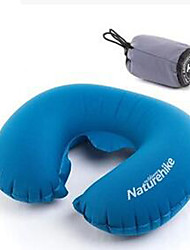 1pc Travel Pillow Foldable Portable Elastic for Travel Rest Polycarbonate-Blue Green Purple Gray Orange