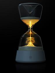 1pc changeant de couleur 2w rétro newfang conduit à économie d'énergie la tête d'un lit de touche lampe de nuit led